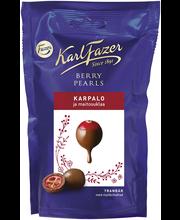 Karl Fazer Berry Pearls 90g karpalo, maitosuklaalla kuorrutettuja karpaloita, suklaamakeinen