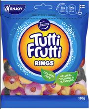 Tutti Frutti Rings 180g makeissekoitus