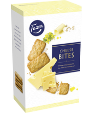 Fazer Emment Cheese Bites 160g juustokeksejä, n. 34kpl