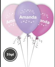 Nimipallo Amanda 3 kpl