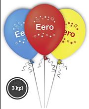 Nimipallo Eero 3 kpl
