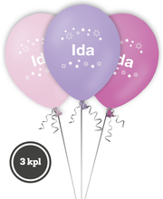 Nimipallo Ida 3 Kpl