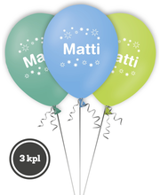 Nimipallo Matti 3 kpl