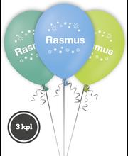 Nimipallo Rasmus 3 kpl