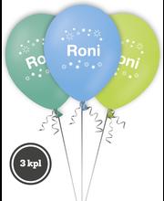 Nimipallo Roni 3 kpl