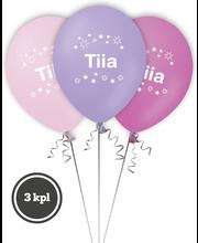 Nimipallo Tiia 3 kpl