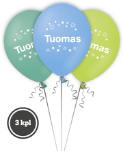 Nimipallo Tuomas 3 kpl