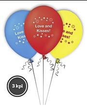 Pallo Love and Kisses! 3 kpl