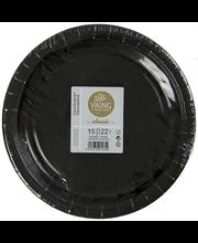 Lautanen 22Cm Musta