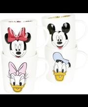 Disney hahmot 4 laj muki