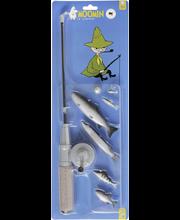 Muumi Nuuskamuikkunen kalastussetti