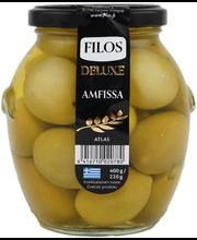 Filos deluxe 400/220g vihreä oliivi Amfissa atlas kivellinen