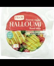 Filos 200g pyöreä viipaloitu kyproslainen halloumi-juusto