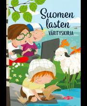 Suomen lasten värityskirja (kuvitus: Terese Bast)