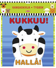 Kangaskirja/Tygbok Kukkuu/Hallå (suuri)