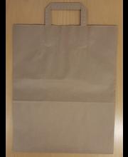 Paperikassi, ruskea.painamaton, 320x170x400mm