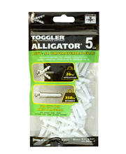 TOGGLER ALLIGATOR Kiinnike 5mm laipalla 100kpl/IP