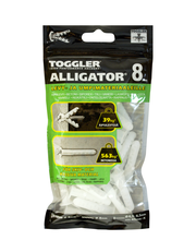 TOGGLER ALLIGATOR Kiinnike laipalla 8mm 50kpl/IP