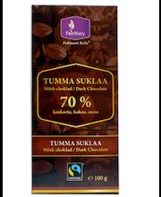 FairMary 100g Tumma suklaa 70 %
