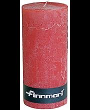 Finnmari Huurre pöytäkynttilä 7 x 15cm punainen
