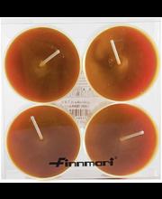 Finnmari Maxi muovilämpökynttilä 4-pack terracotta
