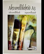 Akvarellilehtiö a3