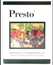 PRESTO Karpalo viiniainespakkaus 22 litralle marjaviiniä