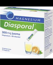 Magnesium Diasporal 20kpl/100g 300mg annospussit