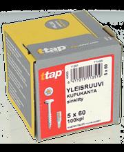 Yleisruuvi Kk,Ttap 5X60