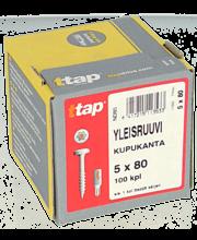 Yleisruuvi Kk,Ttap 5X80