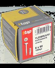 Yleisruuvi Kk,Ttap 6X60