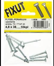 Poraruuvi.flygel 4,8X38
