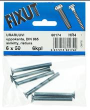 Uraruuvi,Uk, 6X50