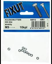 Mutteri, Din 934,Sink M3
