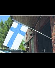 Flagmore Omalippu Suomi 45x75xcm