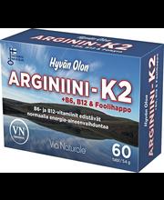 Via Naturale Hyvän Olon Arginiini-K2 60 tabl