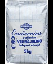 Myllyn Paras 5kg Emännän puolikarkea vehnäjauho