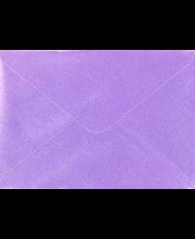 Helmiäiskirjekuori lila C6, 10kpl/pkt