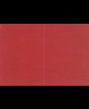 Helmiäiskorttipohja 2-osainen 10 kpl/paketti, punainen