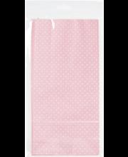 Lahjapussi Pallo vaaleanpunainen 5kpl/pkt