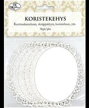 Koristekehys Soikea Valk.