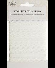 Koristepitsinauha valkoinen 2,4cmx7m