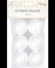 Styrox-Pallo 4,5Cm
