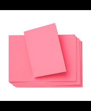 Korttipohja aukoton 2-osainen 10 kpl/paketti, fuksia