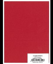 Korttipohja A6 25 kpl/paketti, keltainen