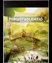 Piirustuslehtiö muumi a4