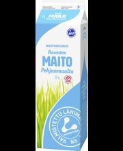 Maitokolmio 1l rasvaton maito