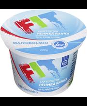 Maitokolmio FIT 200g maustamaton laktoositon rahka