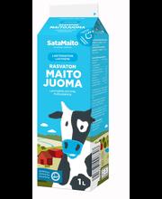 Satamaito 1l Laktoositon rasvaton maitojuoma
