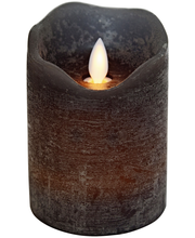 Decora led kynttilä harmaa, 11cm